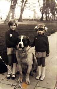 No tak, kiedyś atrakcją były fotosy z psem.