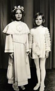Komunia siostry, jestem w okresie podlotkowym, kiedy rosną kończyny a reszta jeszcze nie rośnie.