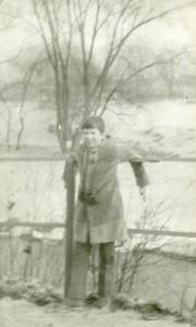 To była wycieczka z dziadkiem nad Kaczawę.